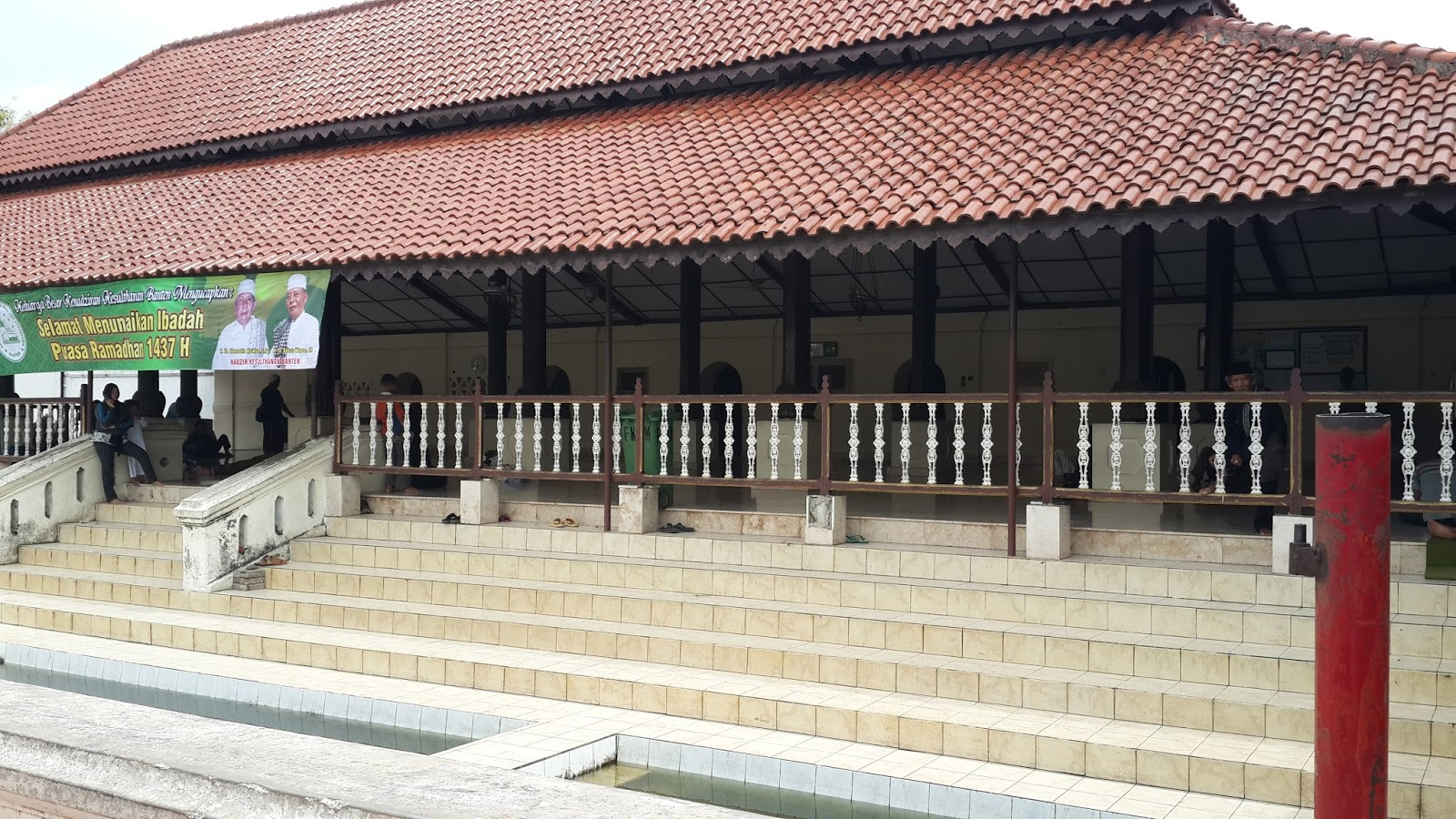 Jelajah Indonesia Masjid Agung Banten Berdirinya Tidak Lepas Tradisi Sebuah