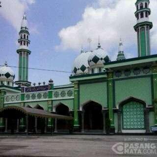 Masjid Agung Baiturrahman Kabupaten Trenggalek Kemegahan Kota Kab Ponorogo