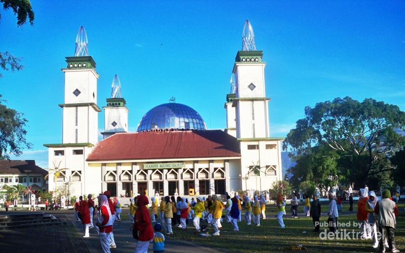 Masjid Agung Garut Tua Bersejarah Kota Kab Ponorogo
