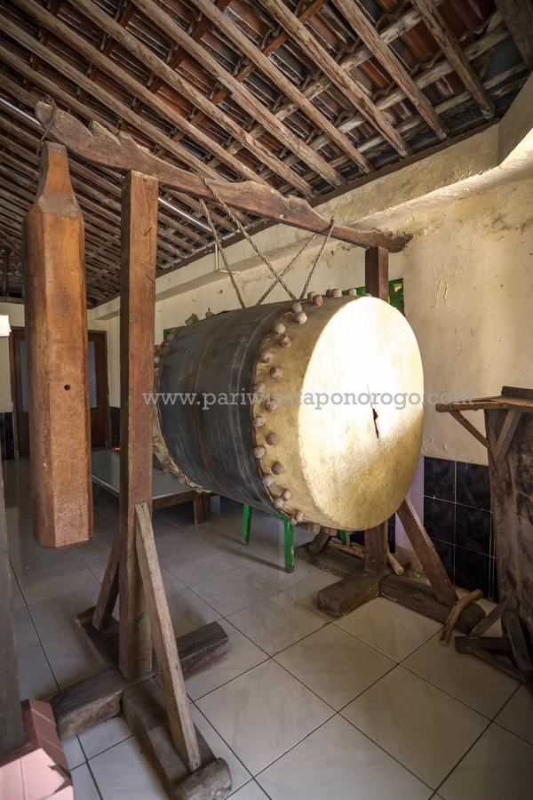 Masjid Agung Kauman Kota Ponorogo Wisata Indah Bedug Kab