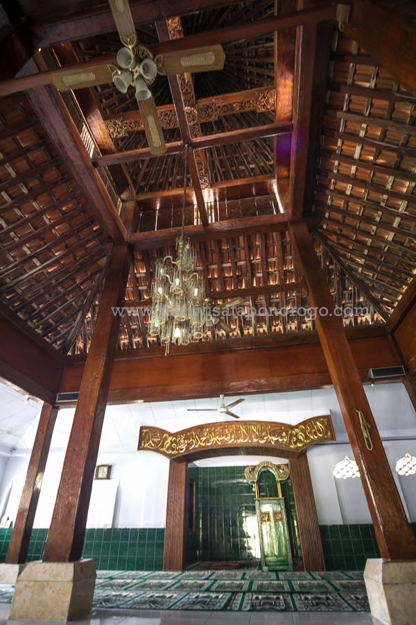 Masjid Agung Kauman Kota Ponorogo Wisata Indah Kab