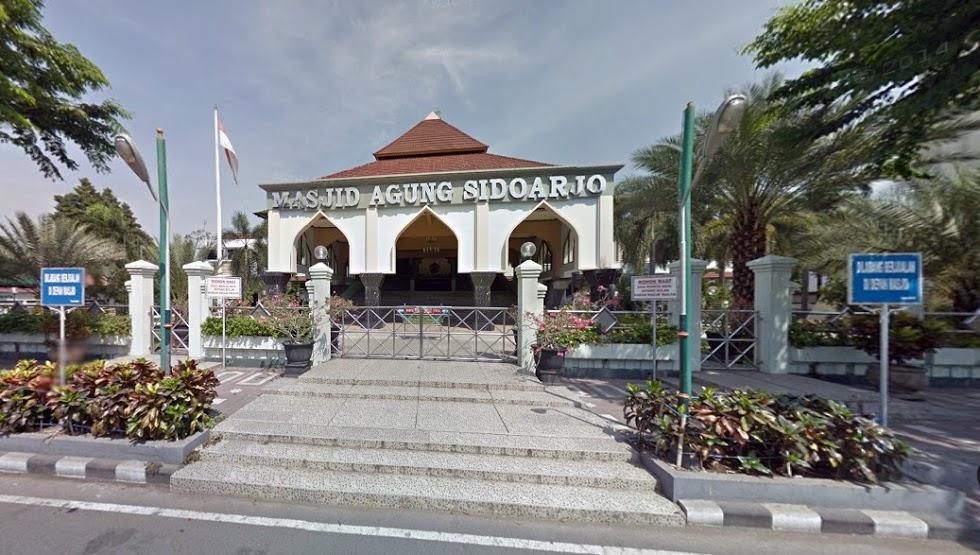 Masjid Agung Sidoarjo Indonesia Kota Kab Ponorogo