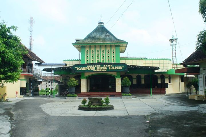 Masjid Jami Kauman Kota Pasar Pon Jejak Perkembangan Islam Ponorogo