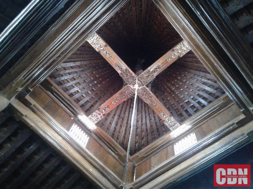 Bangunan Tertua Ponorogo Masjid Tegalsari Cendana News Bagian Atap Langit
