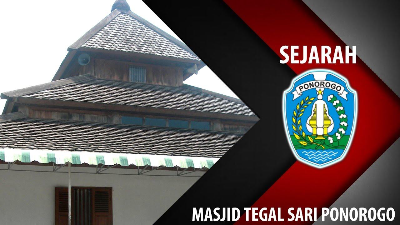 Masjid Tegal Sari Sejarah Peta Jalur Alon Ponorogo Indonesia Tegalsari