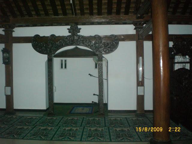 Masjid Tegalsari Kepercayaan Mistis Blog Remaja Abu Bakar Mihrab Ponorogo