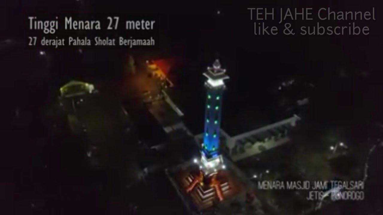Menara Masjid Tegalsari Jetis Ponorogo Youtube Kab