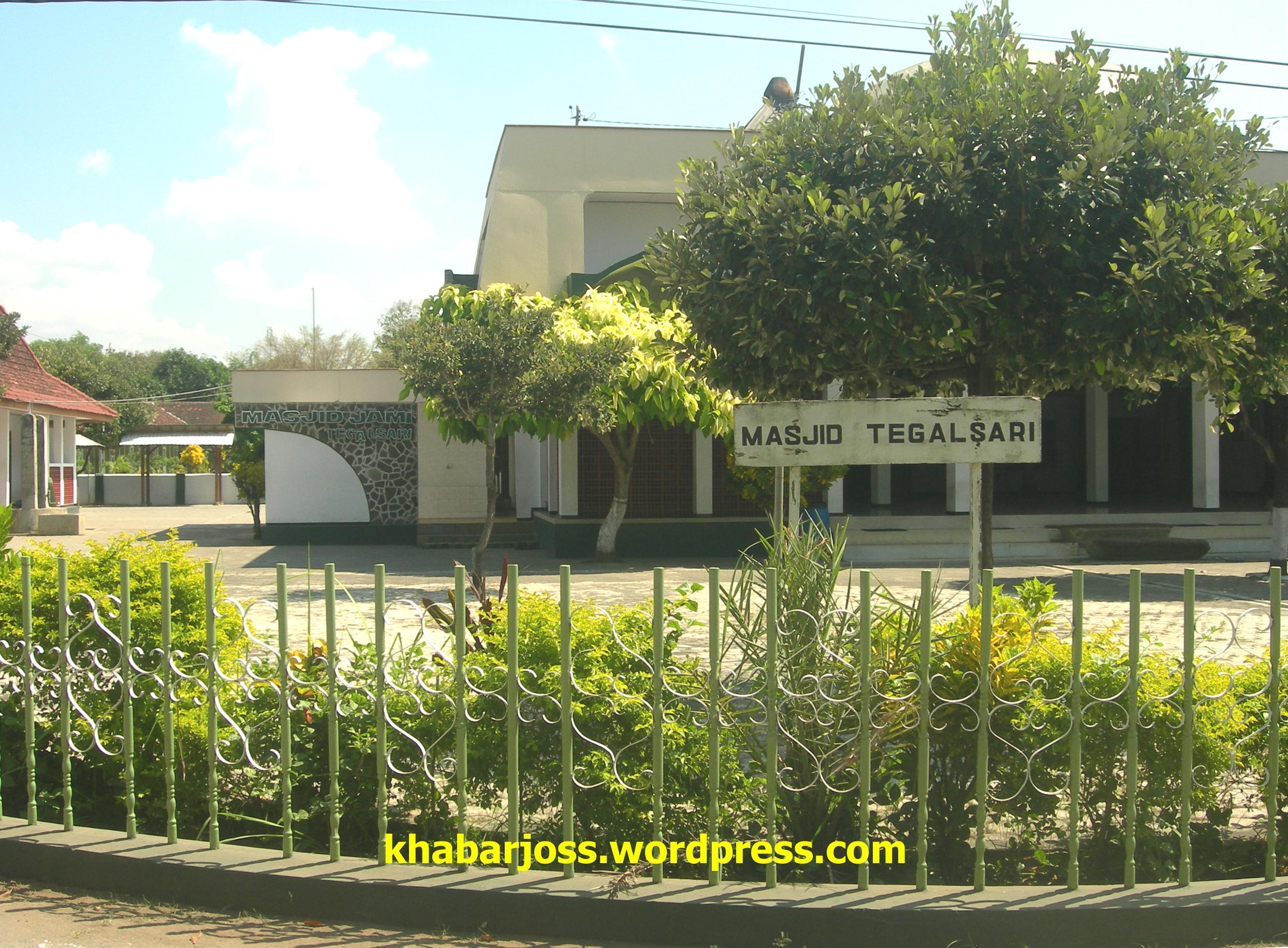 Papan Nama Masjid Tegalsari Kec Jetis Ponorogo Khabarjoss Galeri Foto