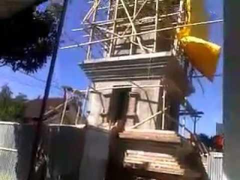 Penampakan Menara Masjid Tegalsari Setengah Jadi Youtube Kab Ponorogo