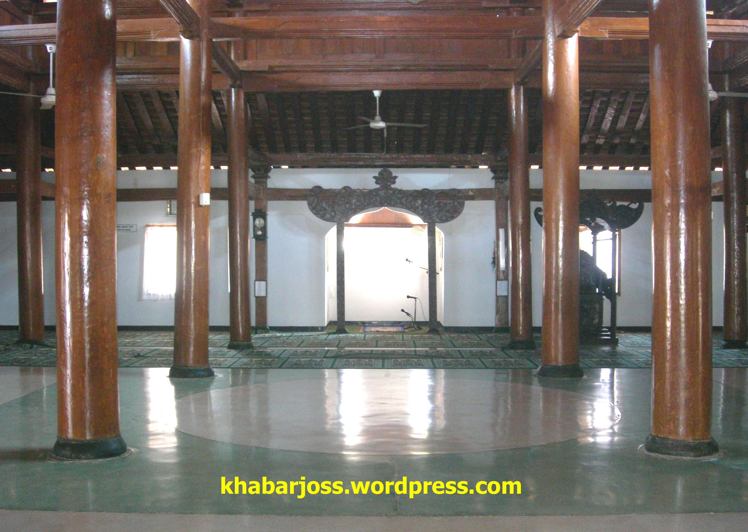 Ruang Utama Imaman Masjid Tegalsari Ponorogo Khabarjoss Galeri Foto Kab