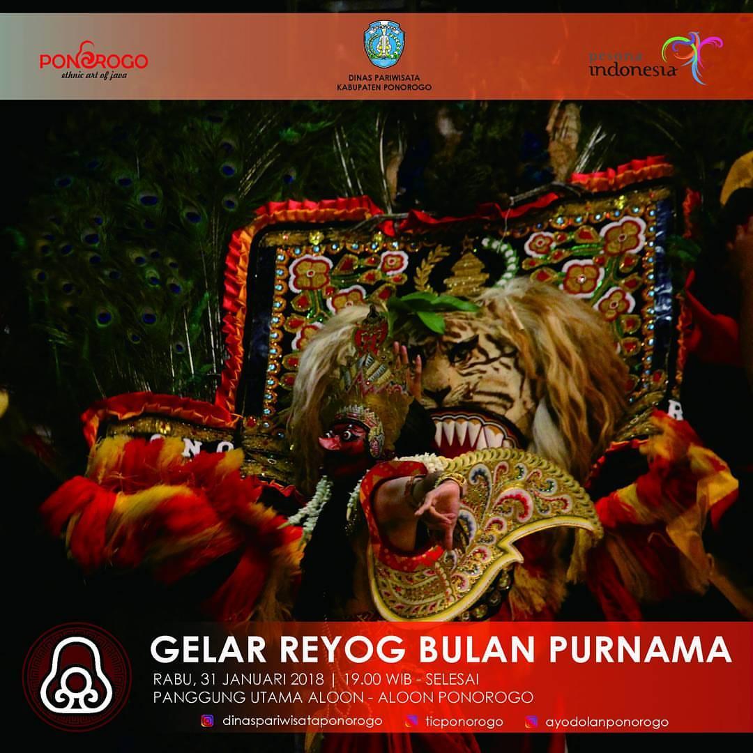 Dinas Pariwisata Ponorogo Dinaspariwisataponorogo Instagram Profile Salam Budaya Datang Saksikan