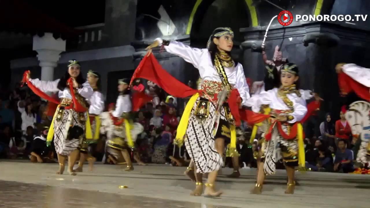 Luar Biasa Pentas Reyog Malam Bulan Purnama Singo Wijoyo Kec
