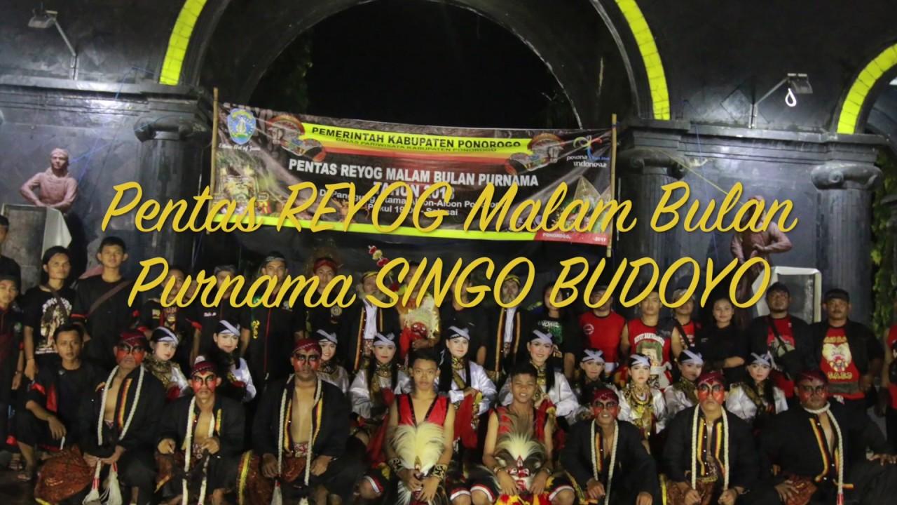 Reog Malam Bulan Purnama Ponorogo 2018 Youtube Pentas Kab