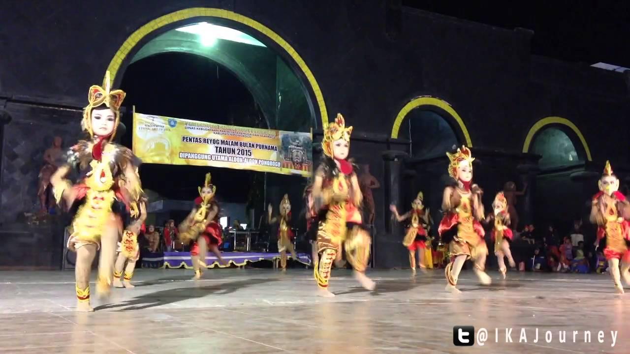 Reyog Purnama 28 September 2015 Panggung Utama Alun Ponorogo Youtube