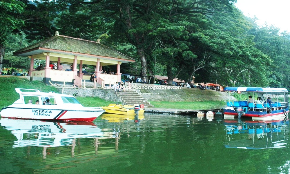 Djava Carter Wisata Ponorogo Sumber Air Cukup Deras Berasal Kanal