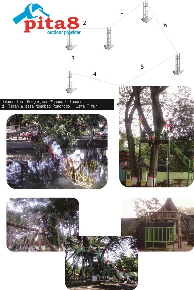 Pita8 Outdoor Provider Equipment Cv Pita Delapan Abadi Taman Wisata