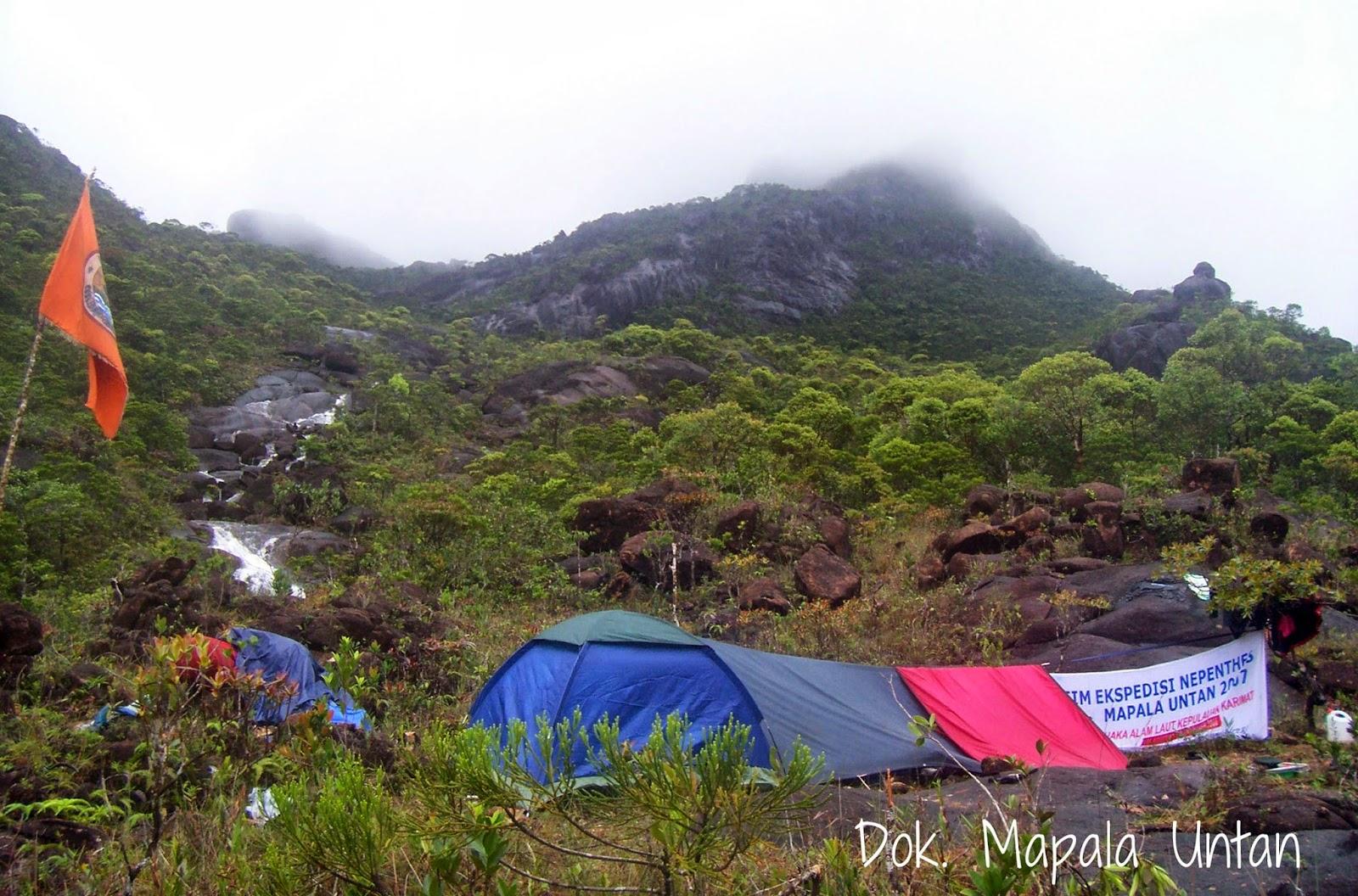 Ekspedisi Nepenthes Berteman Badai Karimata Mapala Untan Pulau Terletak Lebih