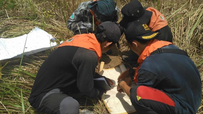 Tim Mapala Untan Gelar Latihan Navigasi Darat Bukit Tiang Hutan