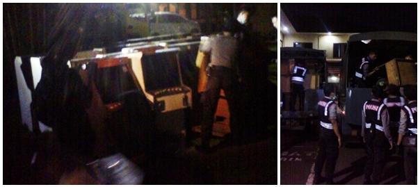 5 Lokasi Kampung Beting Digerebek Polisi Lensa Kapuas Angkut Dingdong