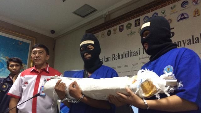 Bnn Gagalkan Pengiriman Narkoba Kampung Beting Pontianak News Kab