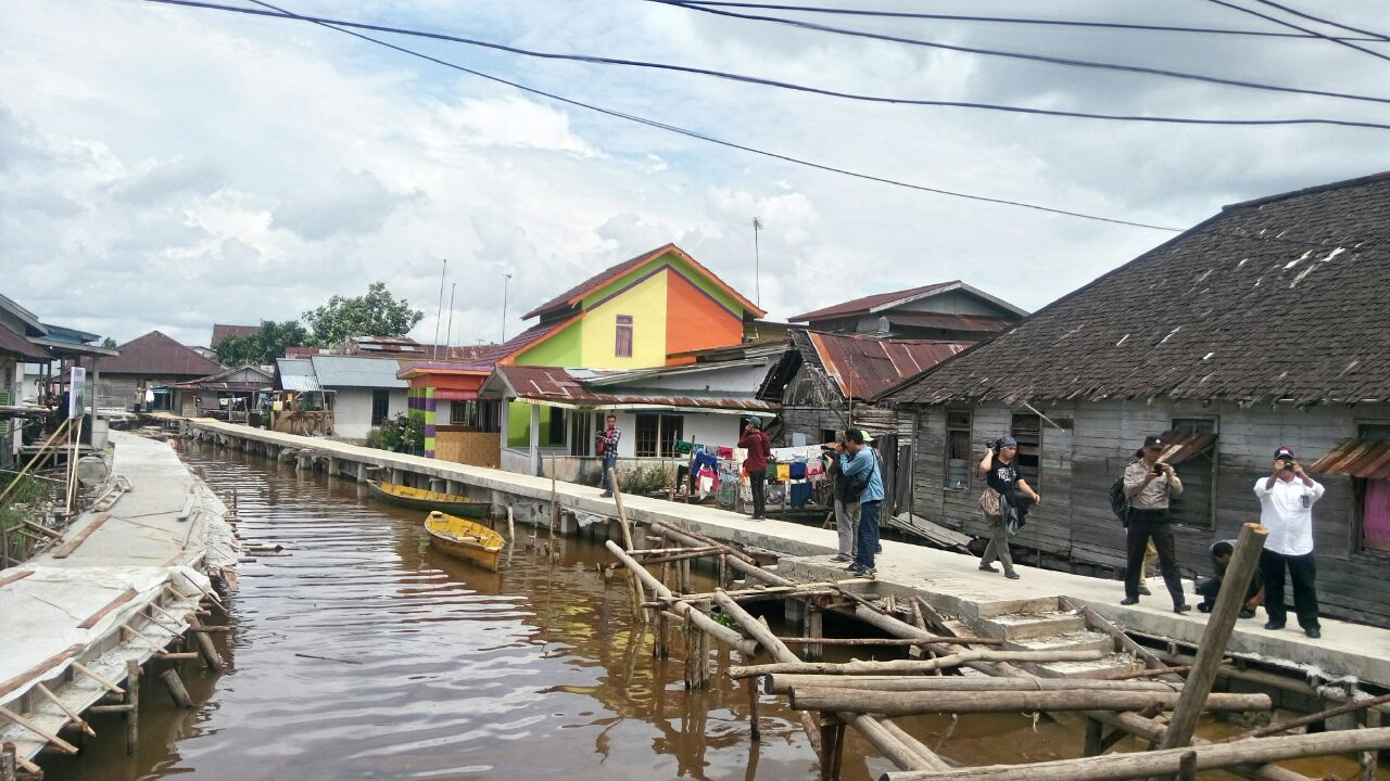 Diam Pemerintah Sulap Kampung Nelayan Pesisir Pontianak Beting Kab