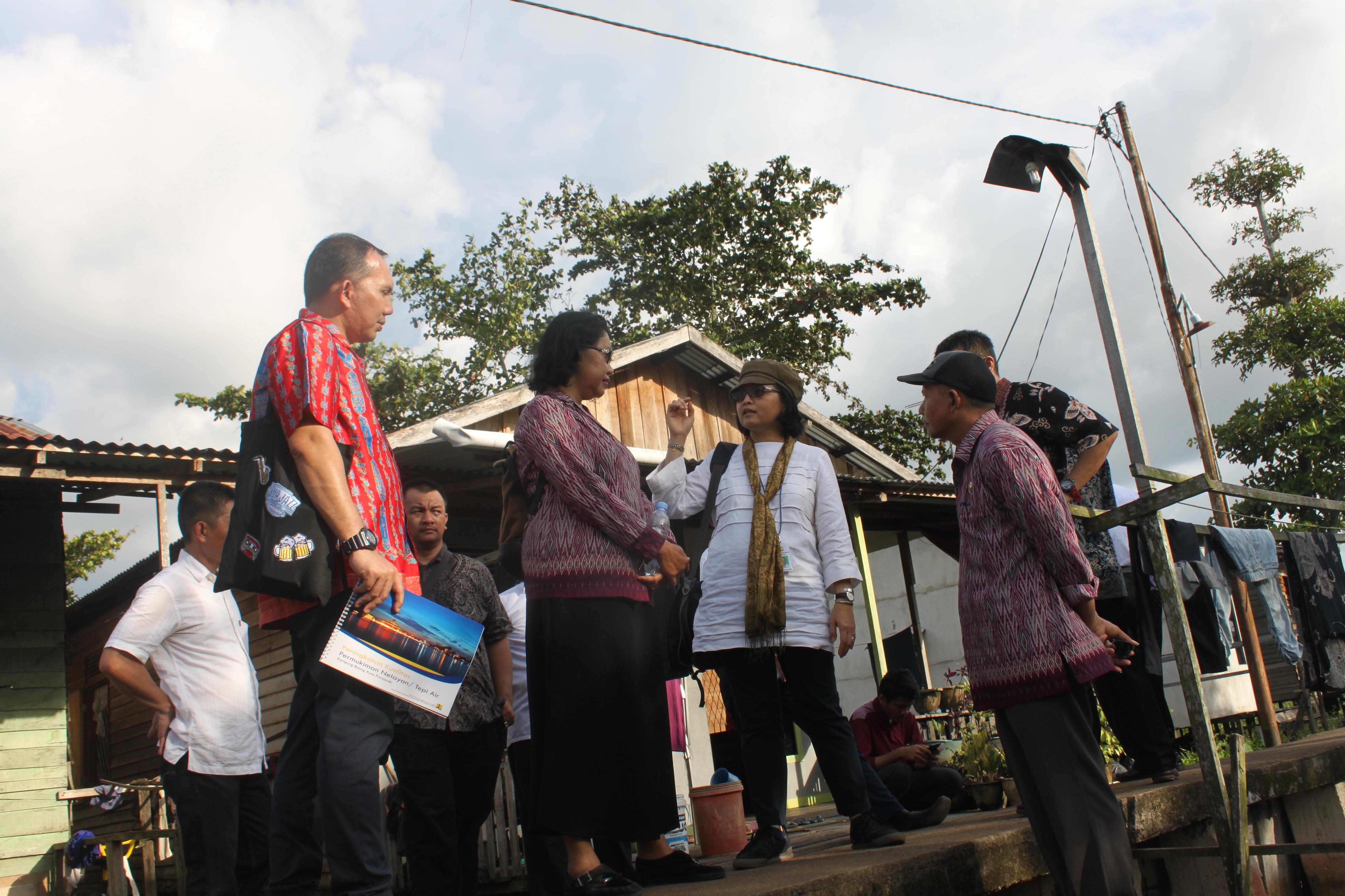 Ditjen Cipta Karya Penataan Kawasan Kampung Beting Diharapkan Mendukung Keterpaduan