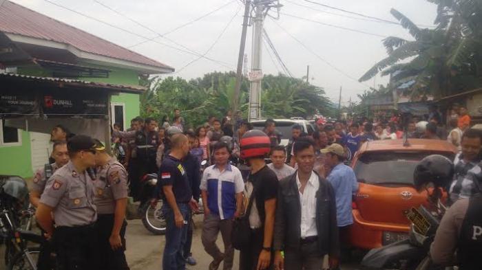 Grebek Kampung Beting Polsek Pontianak Timur Amankan 13 Warga Kab