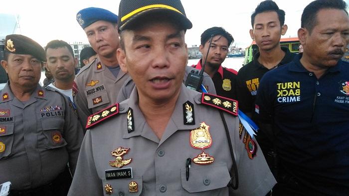 Hasil Tangkapan Polisi Razia Kampung Beting Kab Pontianak