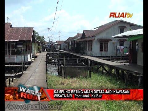 Kampung Beting Ditata Jadi Kawasan Wisata Air Youtube Kab Pontianak