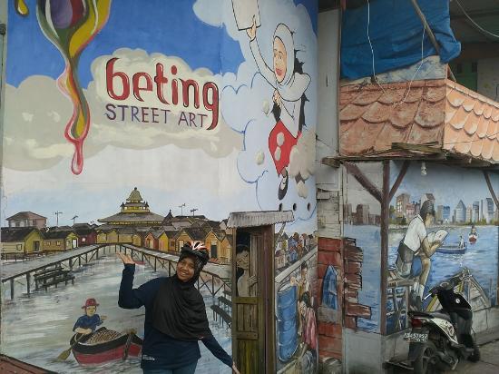 Kampung Beting Picture Tamasya Puri Wisata Pontianak Kab