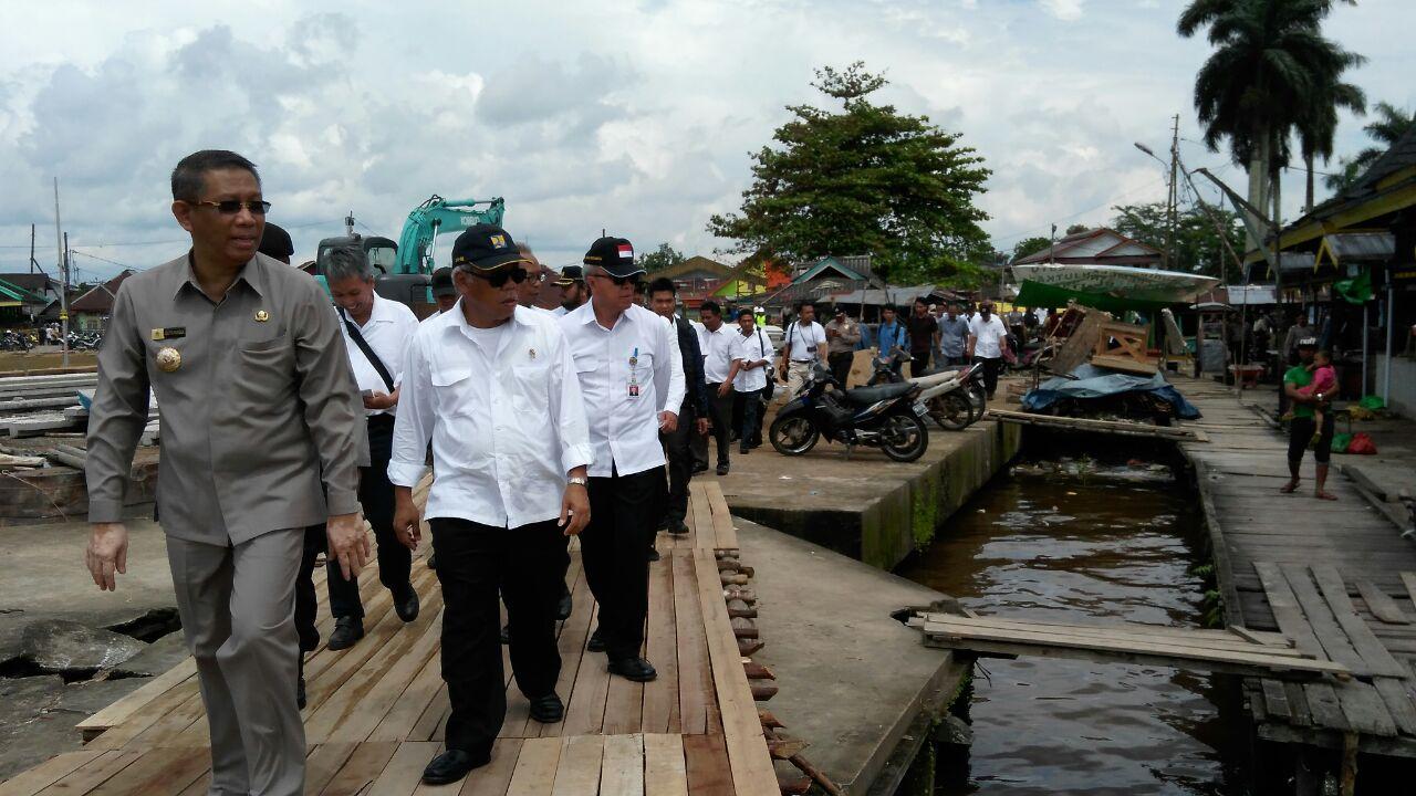 Kampung Nelayan Beting Pontianak Contoh Penataan Kawasan Pesisir Kitanesia Kab