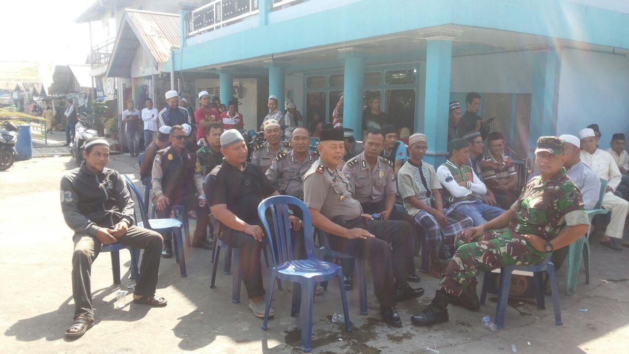Kapolsek Pontianak Timur Anggotanya Takziah Rumah Duka Post Kota Kampung