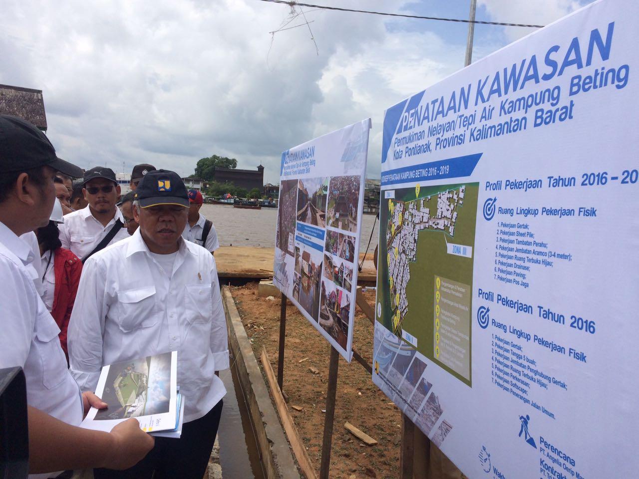 Kementerian Pekerjaan Umum Perumahan Rakyat Republik Indonesia Kampung Nelayan Beting