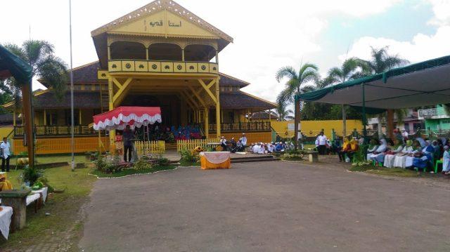 Kesultanan Pontianak Sambut Penataan Beting Istana Kadriah Keraton Kampung Kab