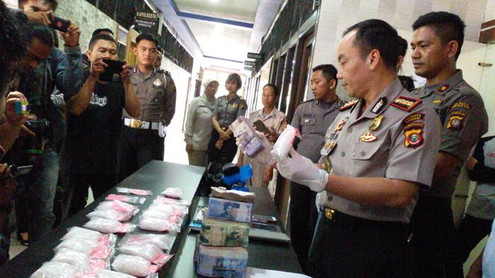 Pemilik Puluhan Paket Sabu Putaw Kampung Beting Terancam Hukuman Mati