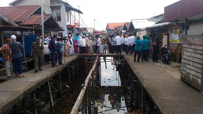 Penataan Ulang Kampung Beting Ditanggapi Positif Warga Foto Suasana Kecamatan