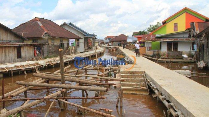 Tinjau Penataan Kampung Beting Menteri Pupr Salat Masjid Jami 20161220