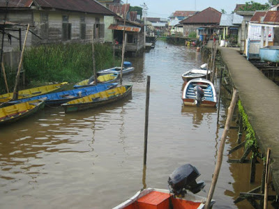 Venice Rasa Pontianak Kampung Beting Jalan Yok Kab