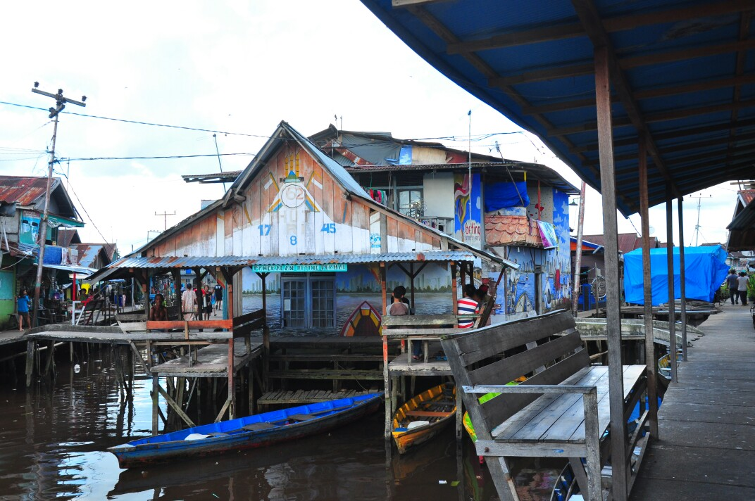 Visitv3 Backpacker Young Educated Adventurous Kampung Beting Dikenal Pontianak Seni