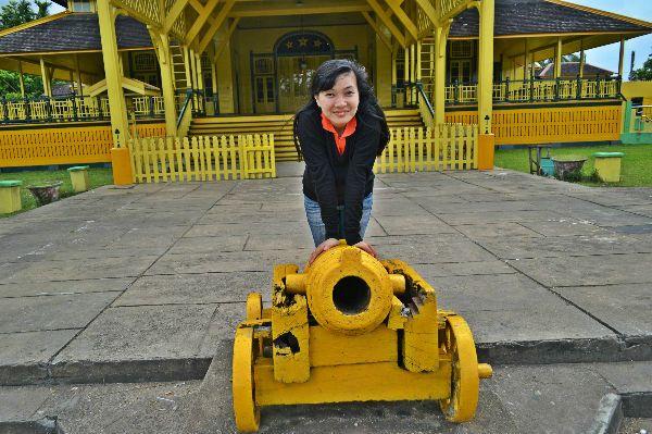Kalimantan Winny Marlina April Istana Kadriah Keraton Kesultanan Kab Pontianak