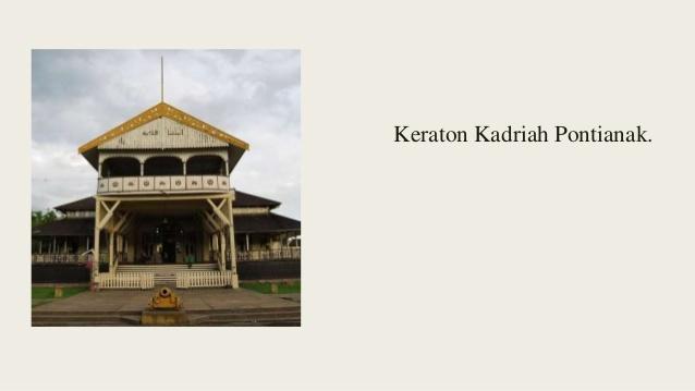 Kerajaan Pontianak Wajo Ternate Keraton Kadriah 7 Kesultanan Kab