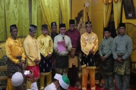 Keraton Kadariyah Pontianak Punya Sultan Wakil Wali Kota Membacakan Surat
