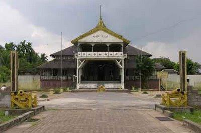 Kopi Keraton Kadriah Pontianak Tempo Doeloe Dijadikan Pusat Pemerintahan Kerajaan