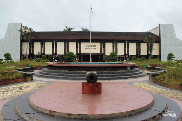 Museum Provinsi Kalimantan Barat Tempat Wisata Kota Pontianak Keraton Kesultanan