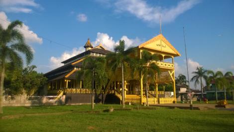 Pontianak Kesultanan Prov Kalimantan Barat Kerajaan Indonesia Keraton Kadriah Kab