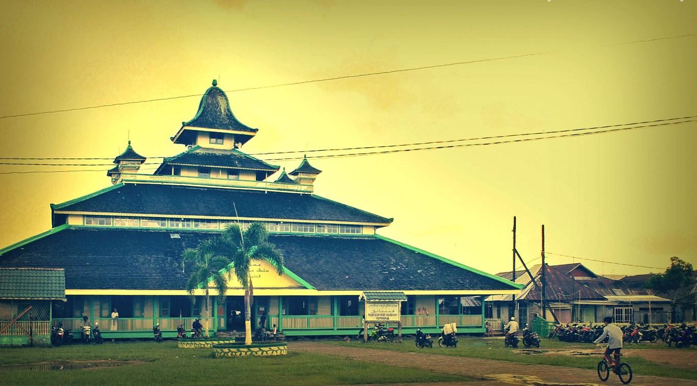Sejarah Pontianak Tidak Lepas Masjid Jami Kota Keraton Kesultanan Kadriah