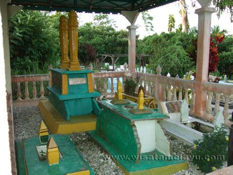 Wisata Sejarah Kalbar Kompleks Istana Kerajaan Landak Terletak Kota Ngabang