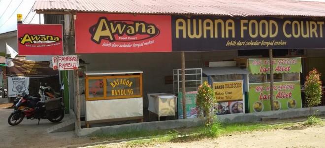 Awana Food Court Wisata Kuliner Tempat Makan Pontianak Kolam Renang