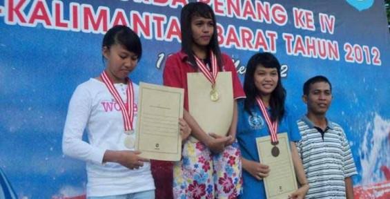 Juara 9 Emas Renang Kkr Dini Syahbrina Jadi Polwan Tribun