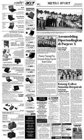 Pontianak Post Issuu Page 10 Kolam Renang Jc Oevang Oeray